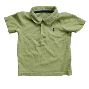 💗Carter's Button Up, Collared Polo Shirt, 2T